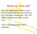 warm up fun stuff1