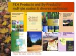 fia products and by products multiple scales diverse audiences