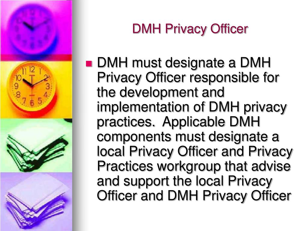 DMH Privacy Officer