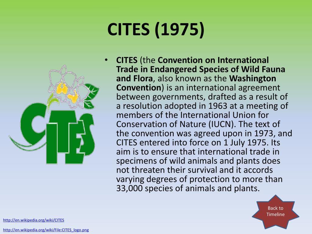 CITES (1975)