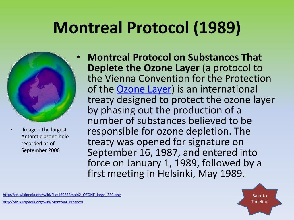 Montreal Protocol (1989)