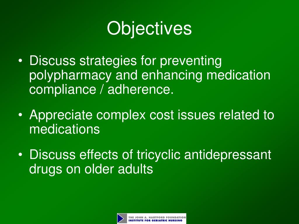 Polypharmacy in Older Adults: The Role of the Advanced Practitioner in Oncology