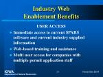 industry web enablement benefits20