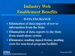 industry web enablement benefits21