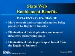 state web enablement benefits23