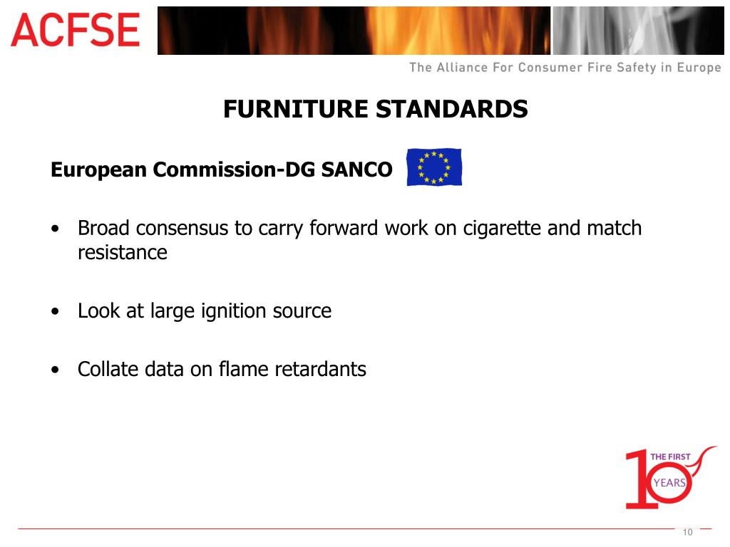 FURNITURE STANDARDS