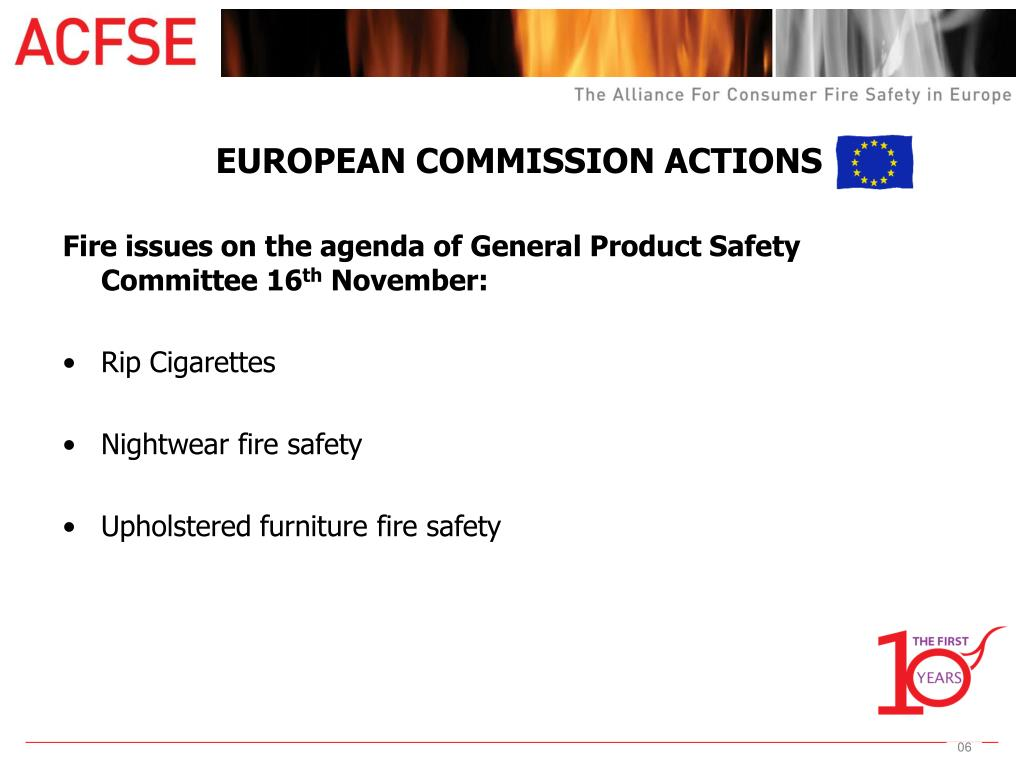 EUROPEAN COMMISSION ACTIONS