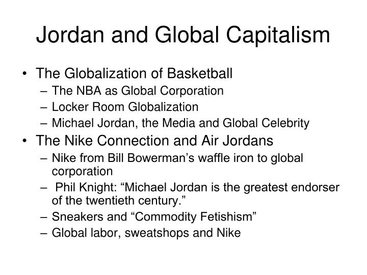 Jordan and Global Capitalism