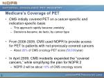 medicare s coverage of pet