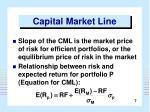 capital market line7