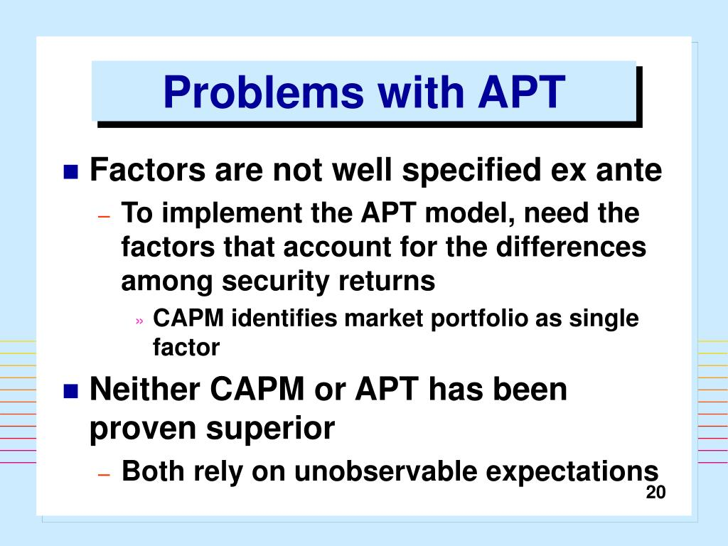 Problems with APT