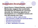 sustainable development32