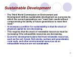 sustainable development33