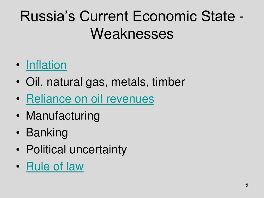 current state economy essay