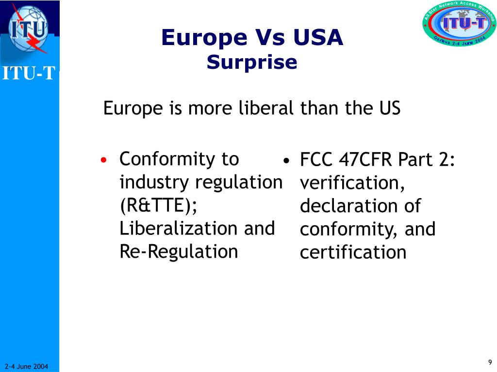 Europe Vs USA