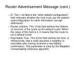 router advertisement message cont26