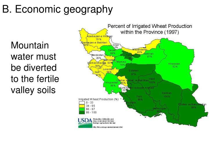 B. Economic geography