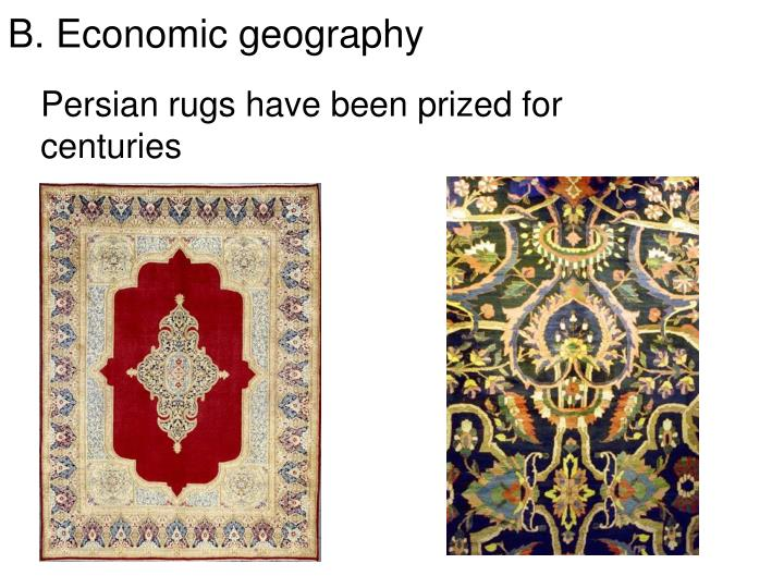 Persian rugs have been prized for centuries