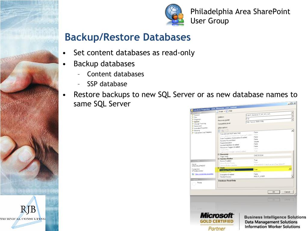 Backup/Restore Databases