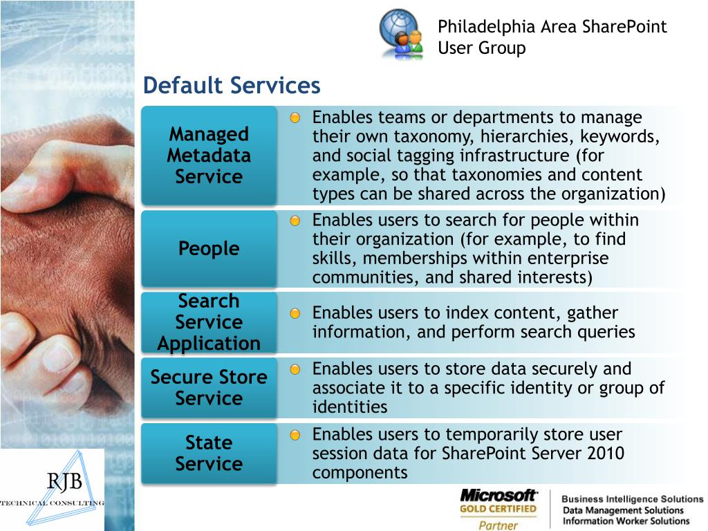 Default Services