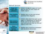 default services17