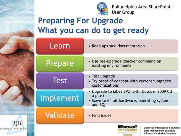 Preparing for upgrade what you can do to get ready l.jpg