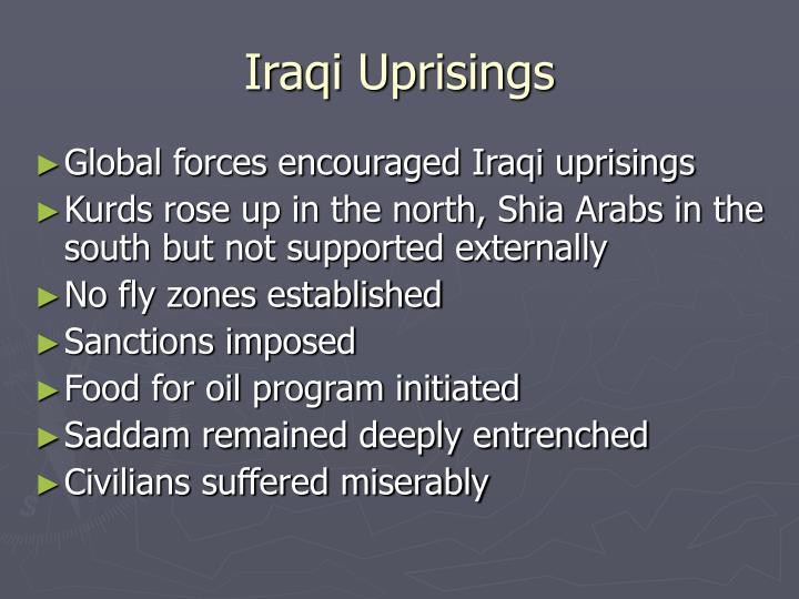 Iraqi Uprisings