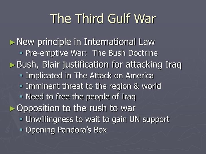 The Third Gulf War