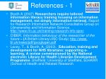 references 1