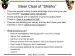 steer clear of sharks