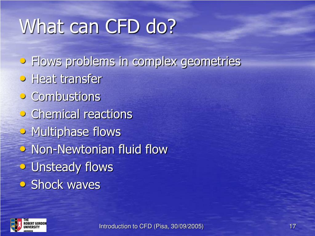 What can CFD do?