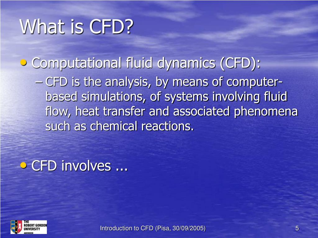 What is CFD?