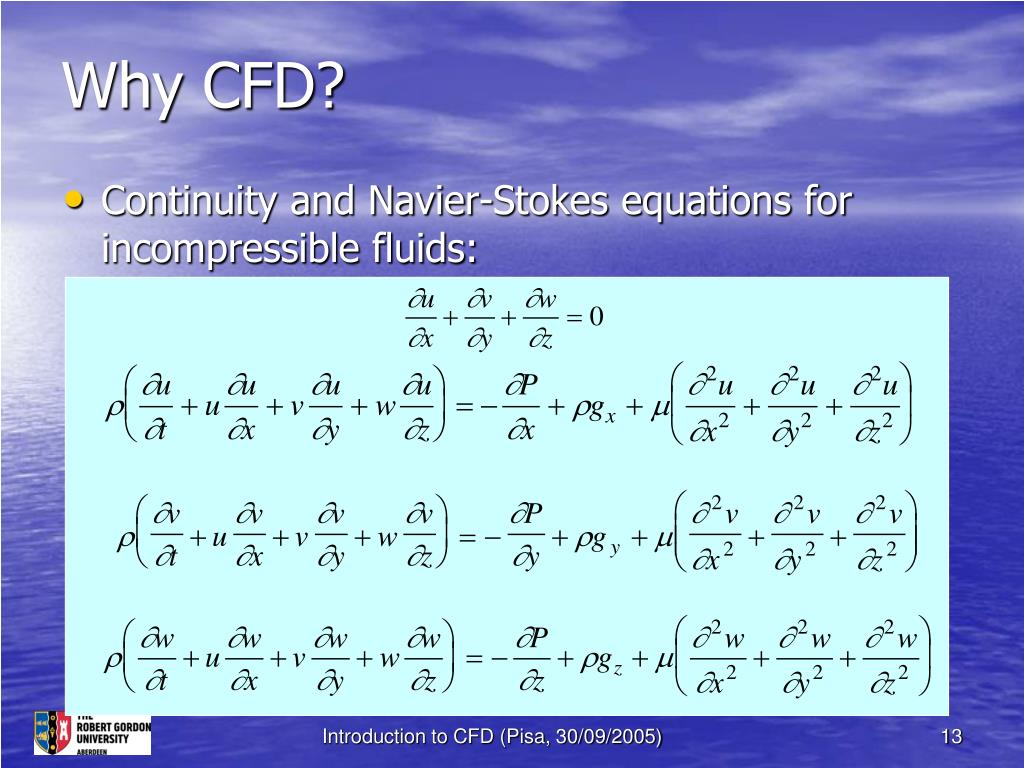 Why CFD?