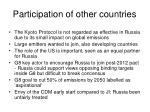 participation of other countries