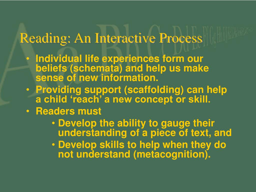 Reading: An Interactive Process