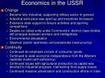 economics in the ussr