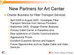 new partners for art center