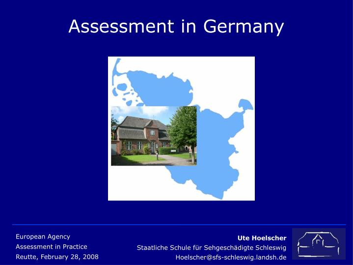 Assessment in germany l.jpg