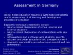 assessment in germany10