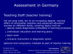 assessment in germany19