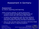 assessment in germany7
