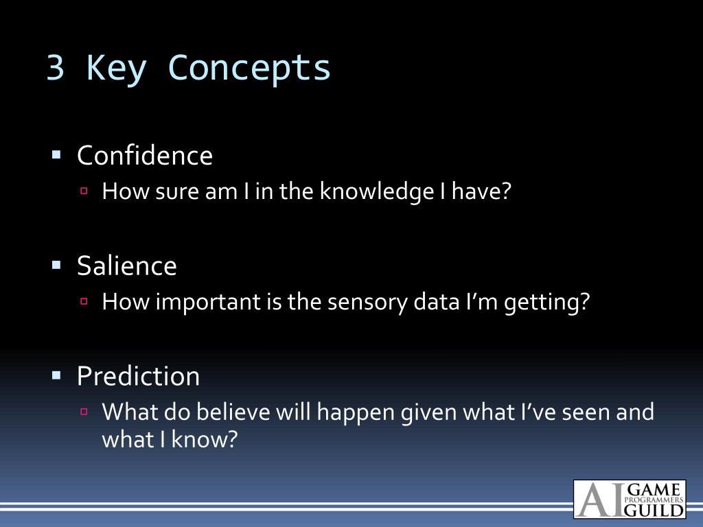 3 Key Concepts