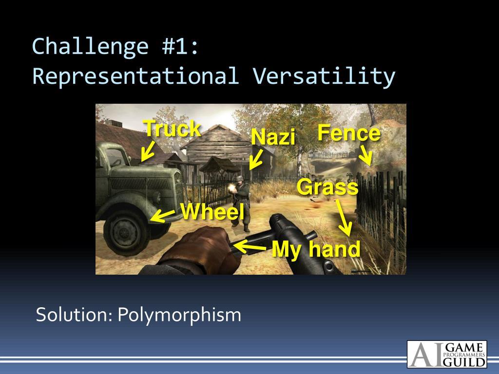 Challenge #1: