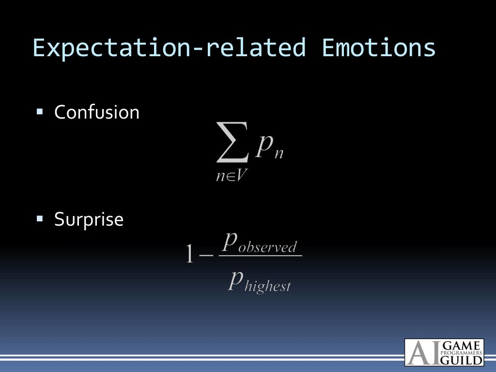 Expectation-related Emotions