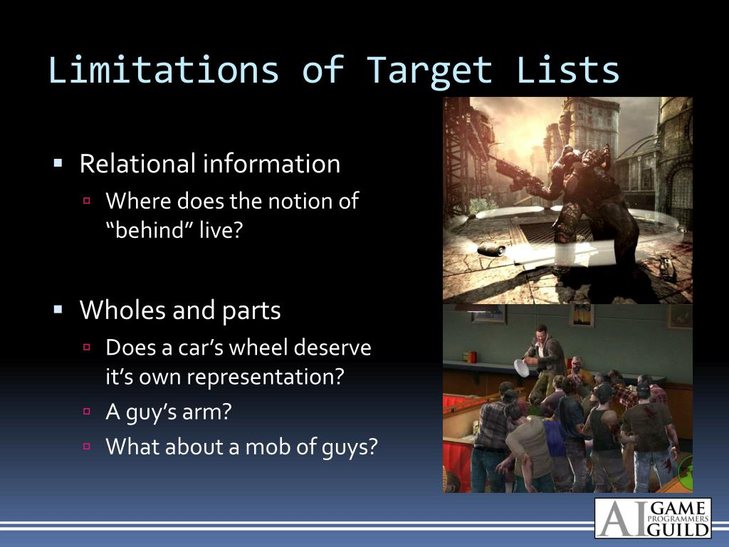 Limitations of Target Lists
