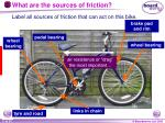 what are the sources of friction