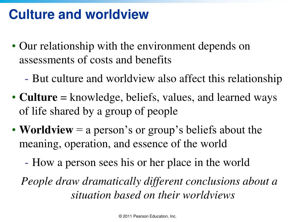 culture and the biblical worldview a Statement of faith worldview academy is a non-denominational organization dedicated to helping christians to think and to live in accord with a biblical worldview so that they will serve christ and lead the culture.