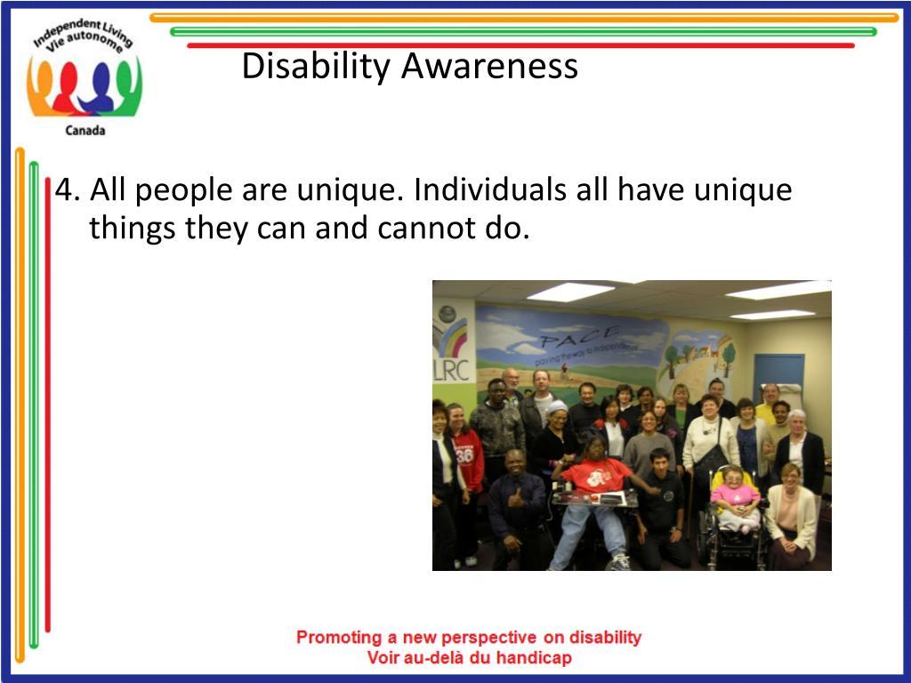 Disability Awareness