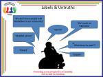 labels untruths