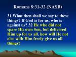 romans 8 31 32 nasb